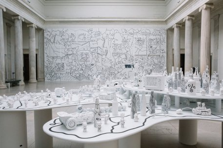 Installation view ofShantell Martin: Someday We Can