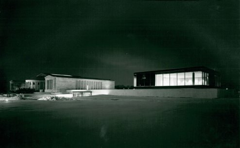 Albright-Knox Art Gallery, January 1962