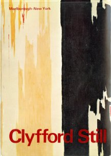 Cover for Clyfford Still: Thirty-three Paintings in the Albright-Knox Art Gallery