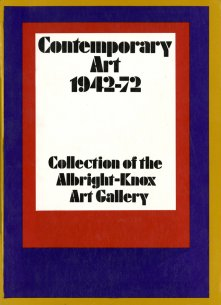 Cover of Contemporary Art 1942-72: Collection of the Albright-Knox Art Gallery