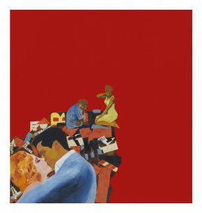 Rosalyn Drexler's Lovers, 1963