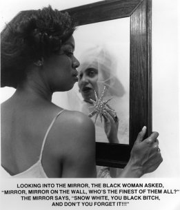 Carrie Mae Weems's Mirror Mirror, 1987–88