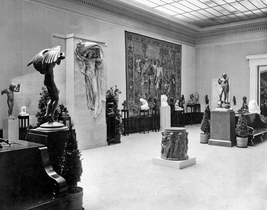 Installation view of Exhibition of Contemporary American Sculpture, Held Under the Auspices of the National Sculpture Society