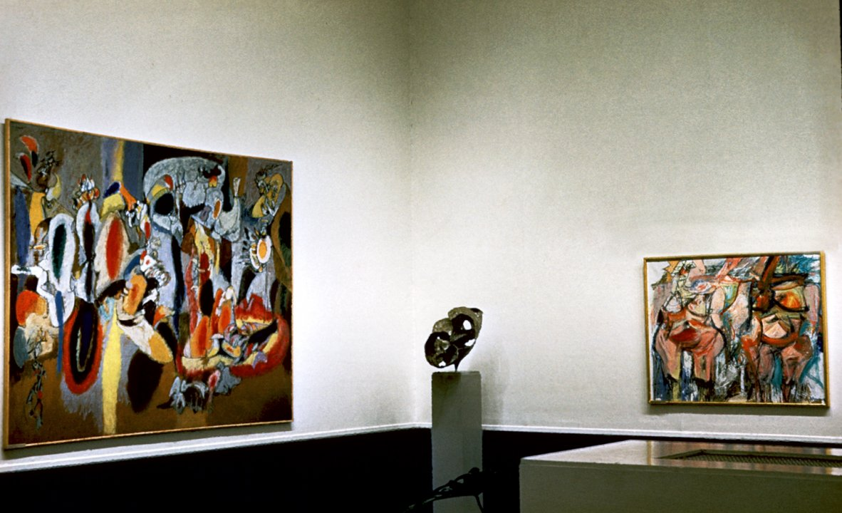 Installation view of Expressionism, 1900–1955