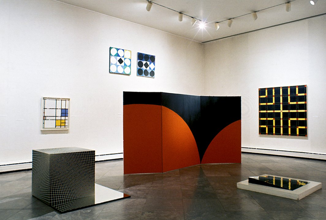 Installation view of Plus by Minus: Today's Half Century