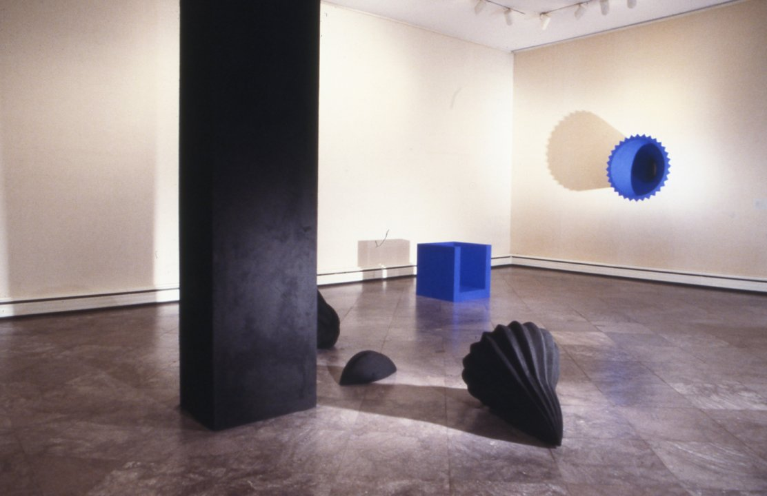 Installation view of Anish Kapoor