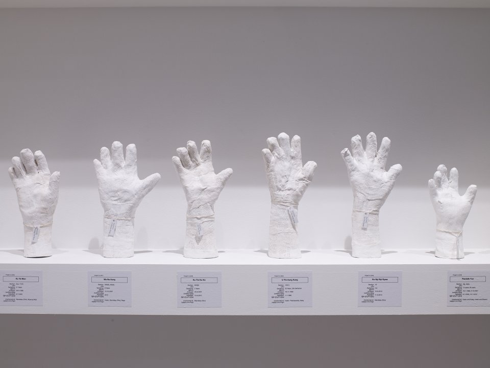Detail of A Show of Hands, 2013–ongoing