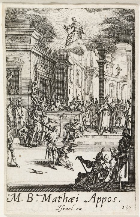 The Martyrdom of St. Matthew from the series The Martyrdoms of the Apostles