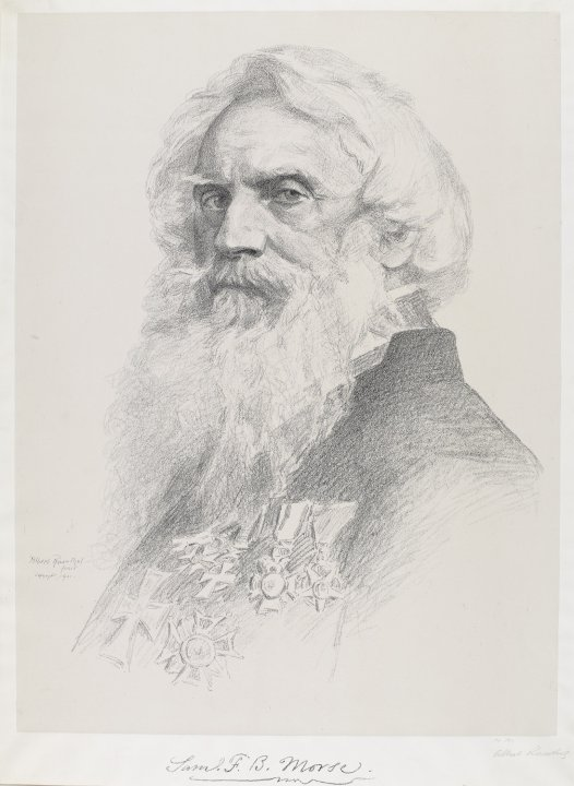 Portrait of Samuel F. B. Morse