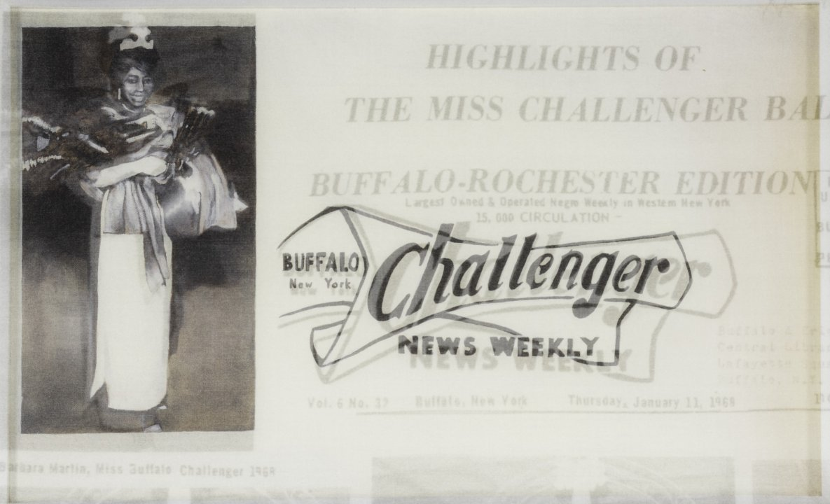 Miss Challenger from the series Challenger Fragments Wall