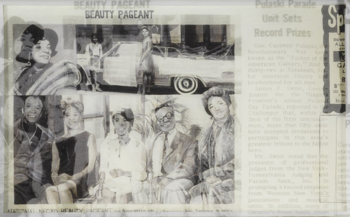 Beauty Pageant from the series Challenger Fragments Wall