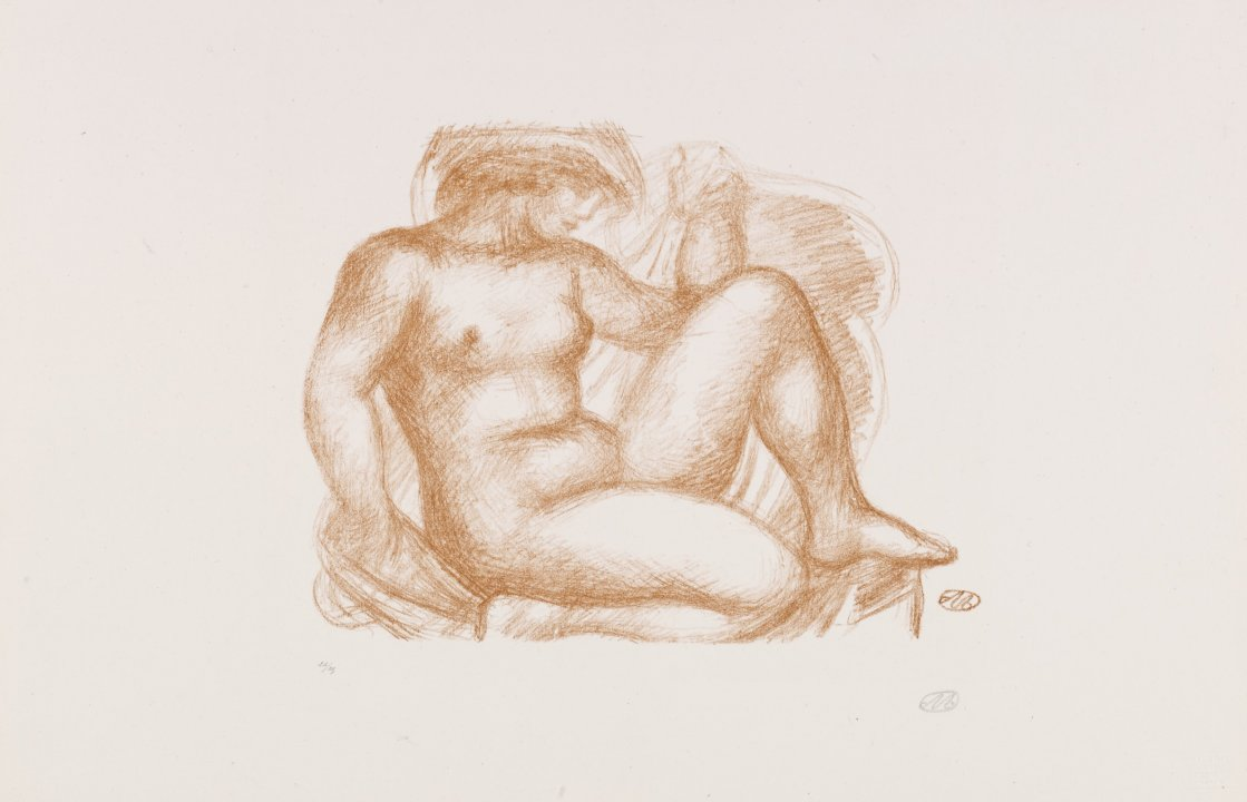 Seated Nude (version 2) from the portfolio Aristide Maillol: Sculpture and Lithography