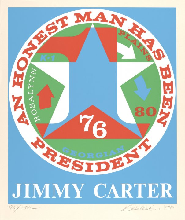 An Honest Man Has Been President: A Portrait of Jimmy Carter from Presidential Portfolio