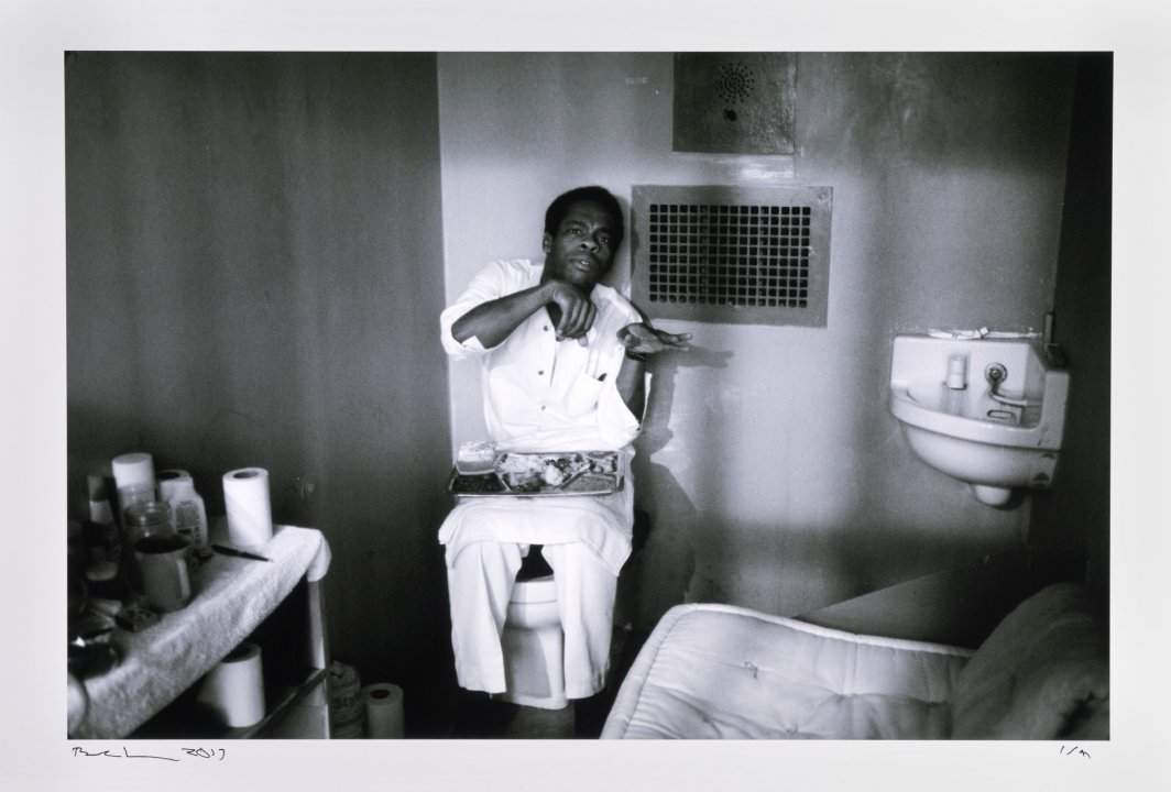 Death Row, Ellis Prison Farm, Texas from the series Inside the Wire