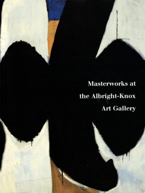 Cover of Masterworks at the Albright-Knox Art Gallery