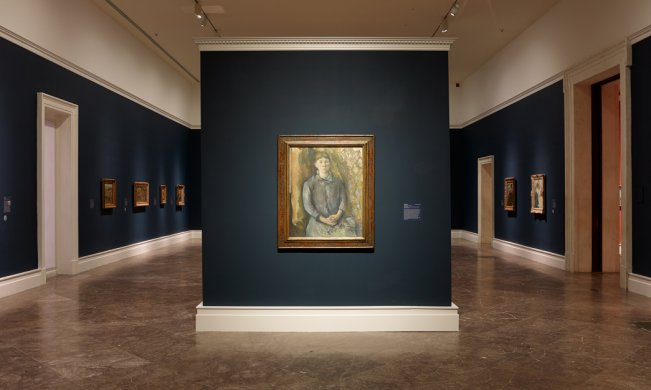 Paul Cézanne's Madame Cézanne, 1886–87, in Humble and Human: An Exhibition in Honor of Ralph C. Wilson, Jr.