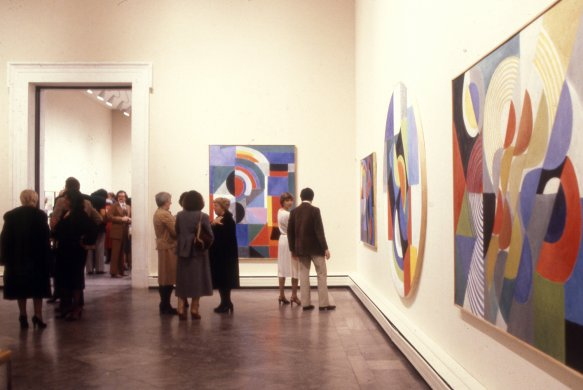 Guests at the Members' Preview of Sonia Delaunay: A Retrospective