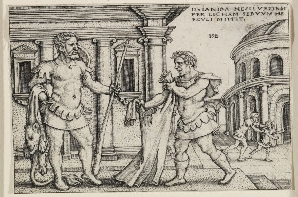 Deianira Nessi Vestum Per Licham Servum Reuli Mittit (Receiving the Shirt of Nessus from Lichas) from the series Labors of Hercules