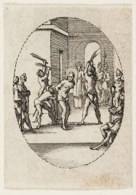 The Flagellation from the series The Mysteries of the Passion of Our Lord and Scenes From the Life of the Virgin