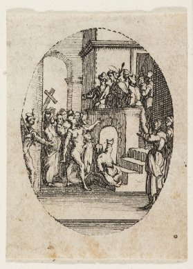 Ecce Homo from the series The Mysteries of the Passion of Our Lord and Scenes From the Life of the Virgin