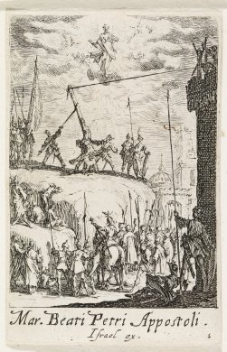 The Martyrdom of St. Peter from the series The Martyrdoms of the Apostles