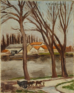 Village on the Marne