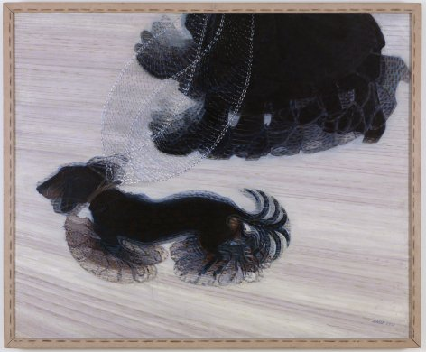 Giacomo Balla's Dynamism of a Dog on a Leash, 1912