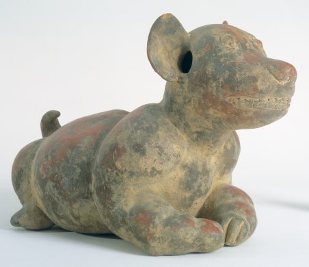 Vessel in the Form of a Dog