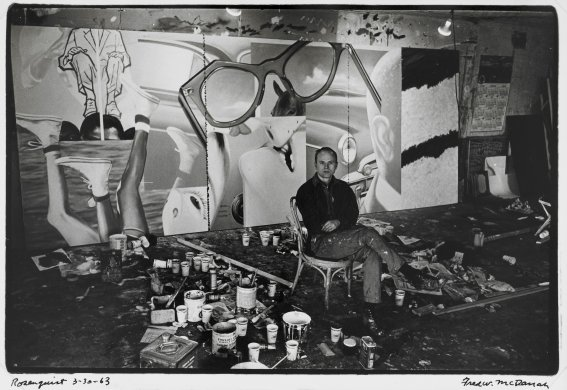 James Rosenquist, New York 3-30-63, 1963
