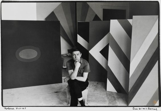 Kenneth Noland, New York 4/10, 1963