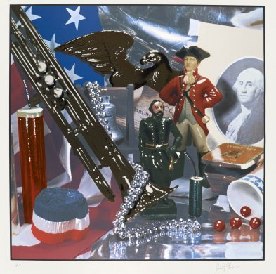 Fourth of July Still Life from Kent Bicentennial Portfolio: Spirit of Independence