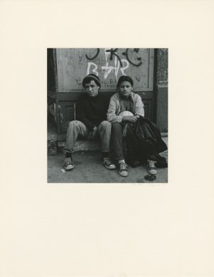 Untitled (Young couple) from the series Lower West Side, 1972-1977