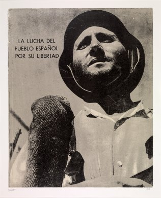 La Lucha del Pueblo Español por su Libertad from the portfolio In Our Time: Covers for a Small Library After the Life for the Most Part