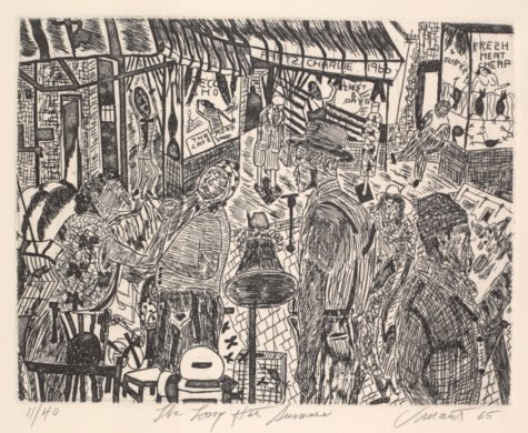The Long Hot Summer from the portfolio Eight Etchings