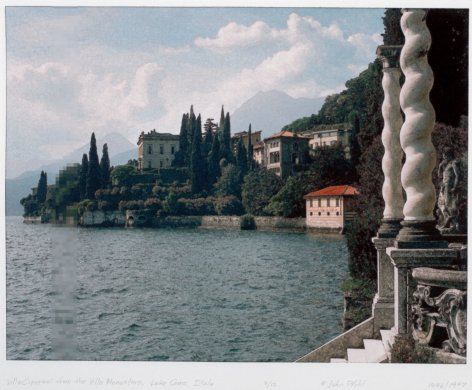 Villa Cipressi from the Villa Monastero, Lake Como, Italy from the portfolio Permutations on the Picturesque