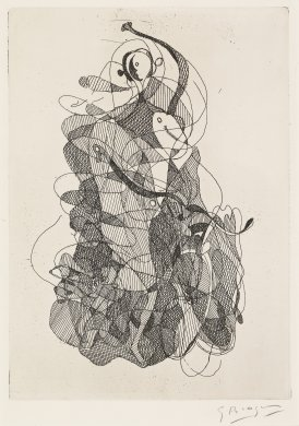 "La Danse, from XX Siecle ""George Braque"" par Carl Einstein (The Dance)"
