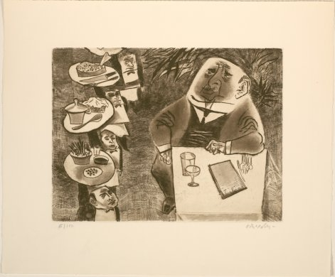 Gourmet from the portfolio Twelve Etchings
