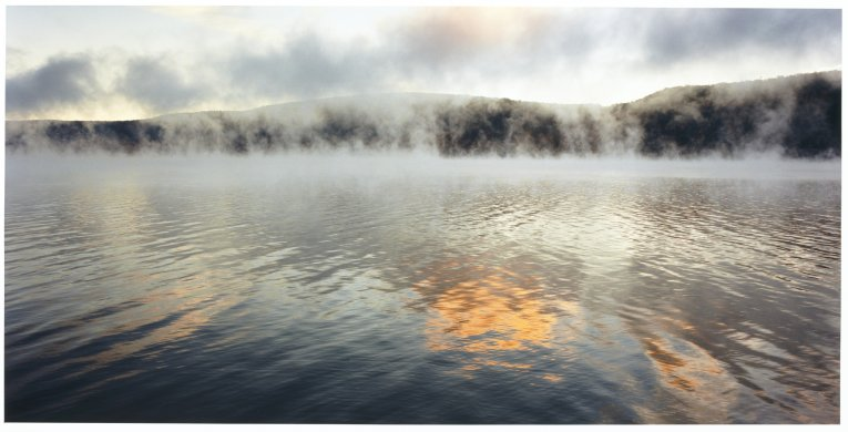 Lake Otsego Sunrise, Cooperstown, NY from the series Luminous River