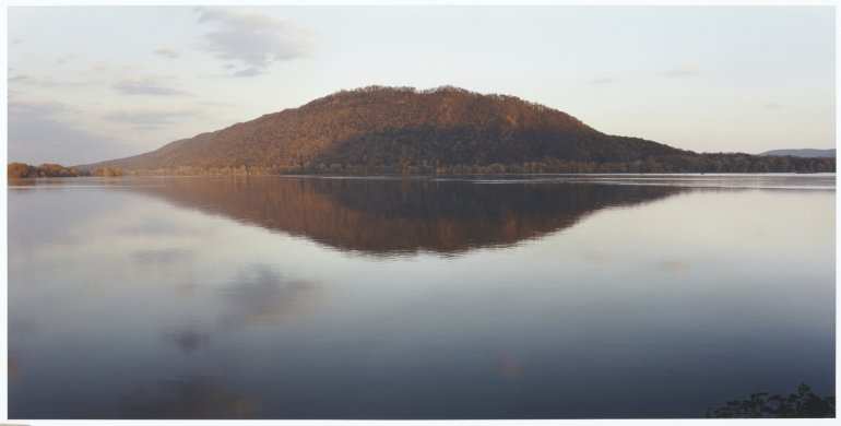 Sunset on Mahatango Mountain, Liverpool, Pa. from the series Luminous River