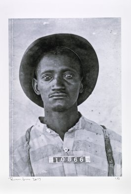 [Arkansas prisoner identification photograph] from the series Inside the Wire