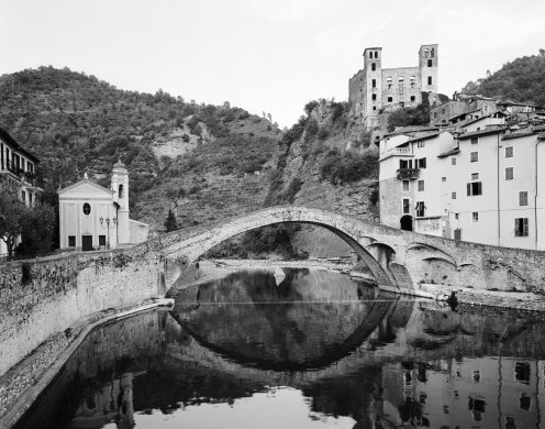 Devil's Bridge #7, Ponte del Diavolo, Dolceacqua, Liguria, Italy from the series Devil's Bridges