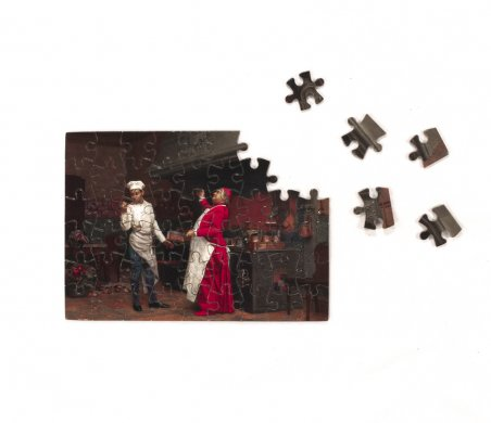 "A puzzle featuring ""The Marvelous Sauce"""