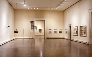 Installation view of In Western New York 1993