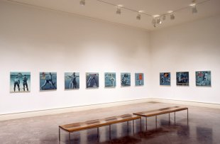 Installation view of In Western New York 2002