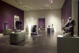 Installation view of Rodin: A Magnificent Obsession—Sculpture from The Iris and B. Gerald Cantor Foundation