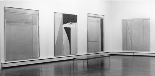 Installation view of Richard Diebenkorn: Paintings and Drawings, 1943–1976