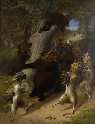 William Holbrook Beard's The March of Silenus, ca. 1862
