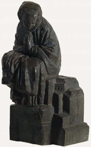 Antoine Bourdelle's L'Hymne Interieur (Woman at Prayer), not dated