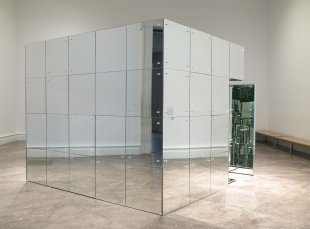 Lucas Samaras (American, born Greece, 1936). Mirrored Room, 1966