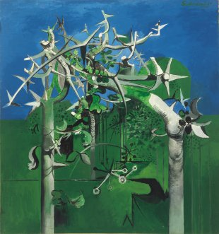 Graham Sutherland's Thorn Trees, 1945
